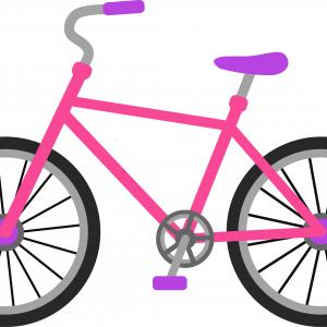 300x300 Simple Drawing Of A Bike Hand Draw Simple Sketch Bike Vector Stock