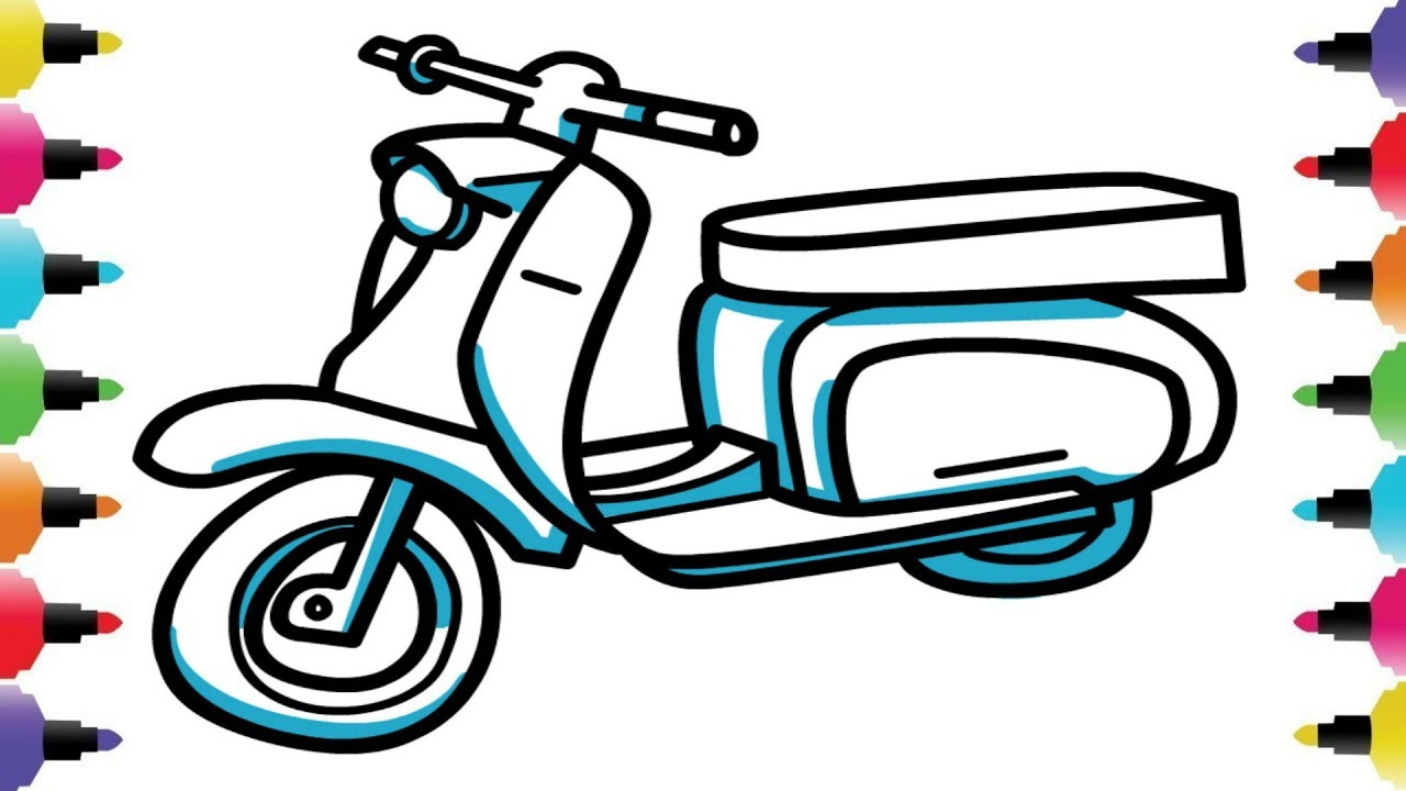 1280x720 How To Draw A Bike