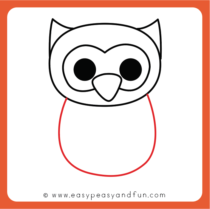 704x701 How To Draw An Owl