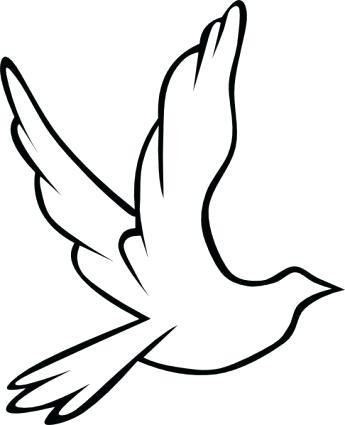 345x425 Simple Bird Drawing Bird Drawing Step