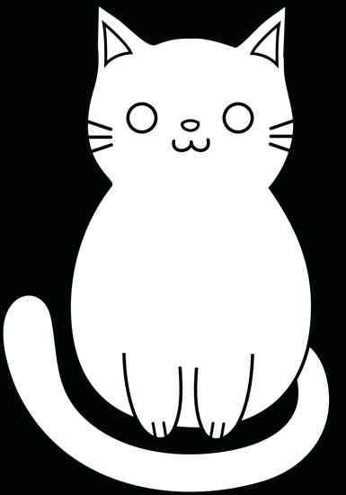 385x550 Easy Cats To Draw How To Draw A Cat Pictures Of Cats Easy Step