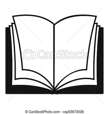 450x470 book dictionary icon, simple black style book dictionary icon
