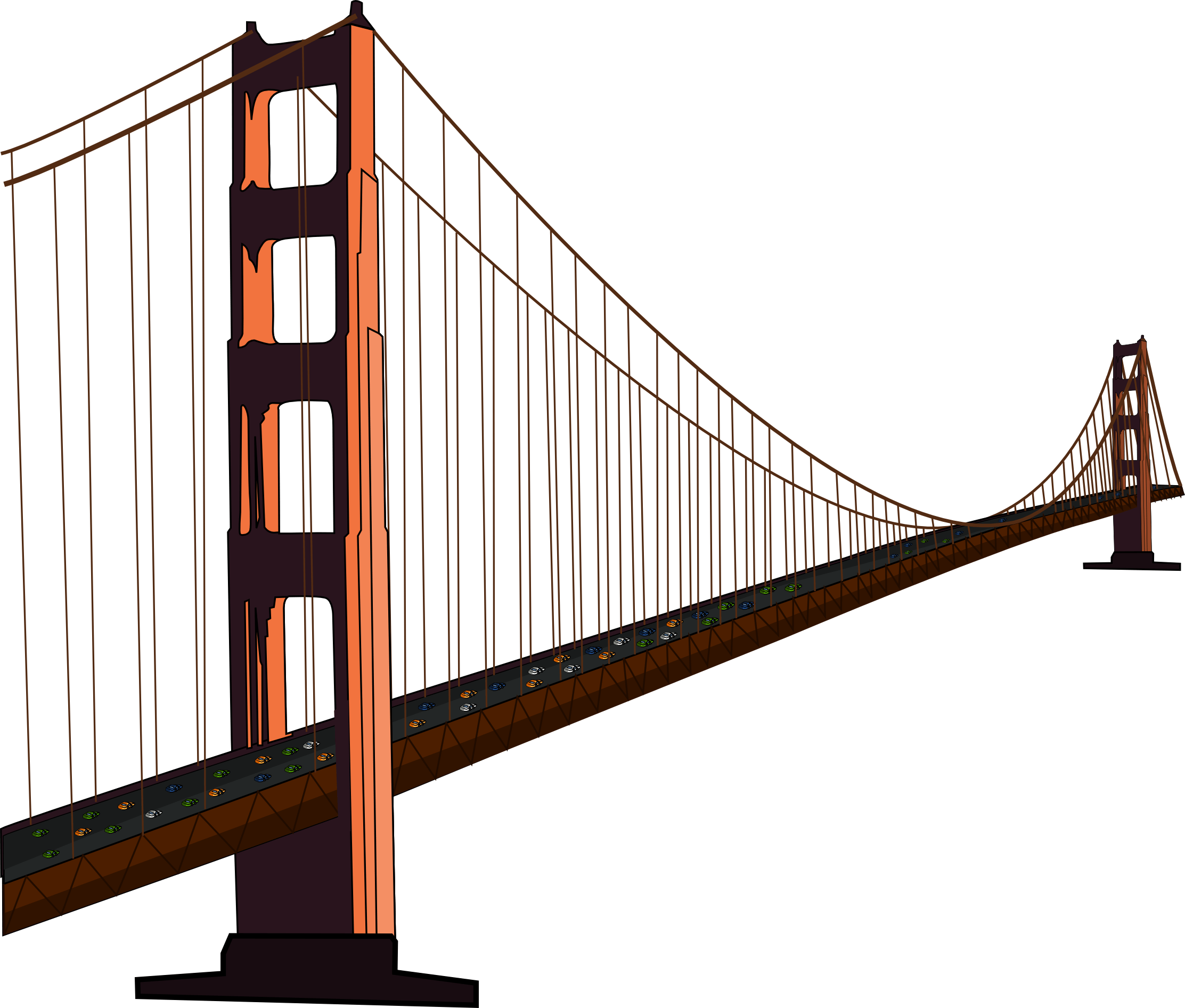 2225x1893 simple golden gate bridge png free simple golden gate bridge