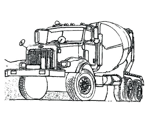 Simple Bulldozer Drawing | Free download on ClipArtMag