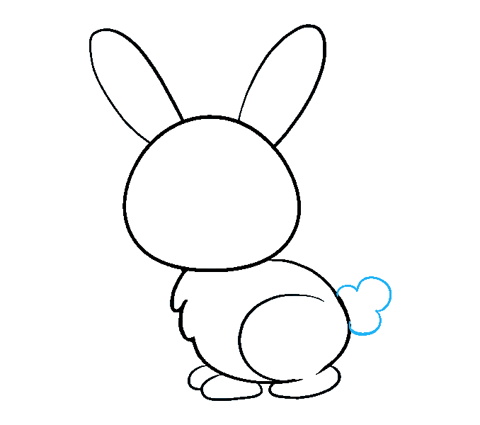 678x600 How To Draw A Bunny Really Easy Drawing Tutorial Easy Drawing