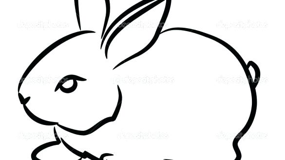 585x329 Easy To Draw Bunny