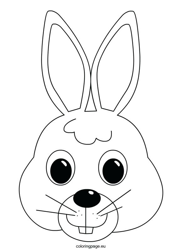 581x803 Bunny Face Paint Cute Coloring Pages For Girls Lot To Color Bunny