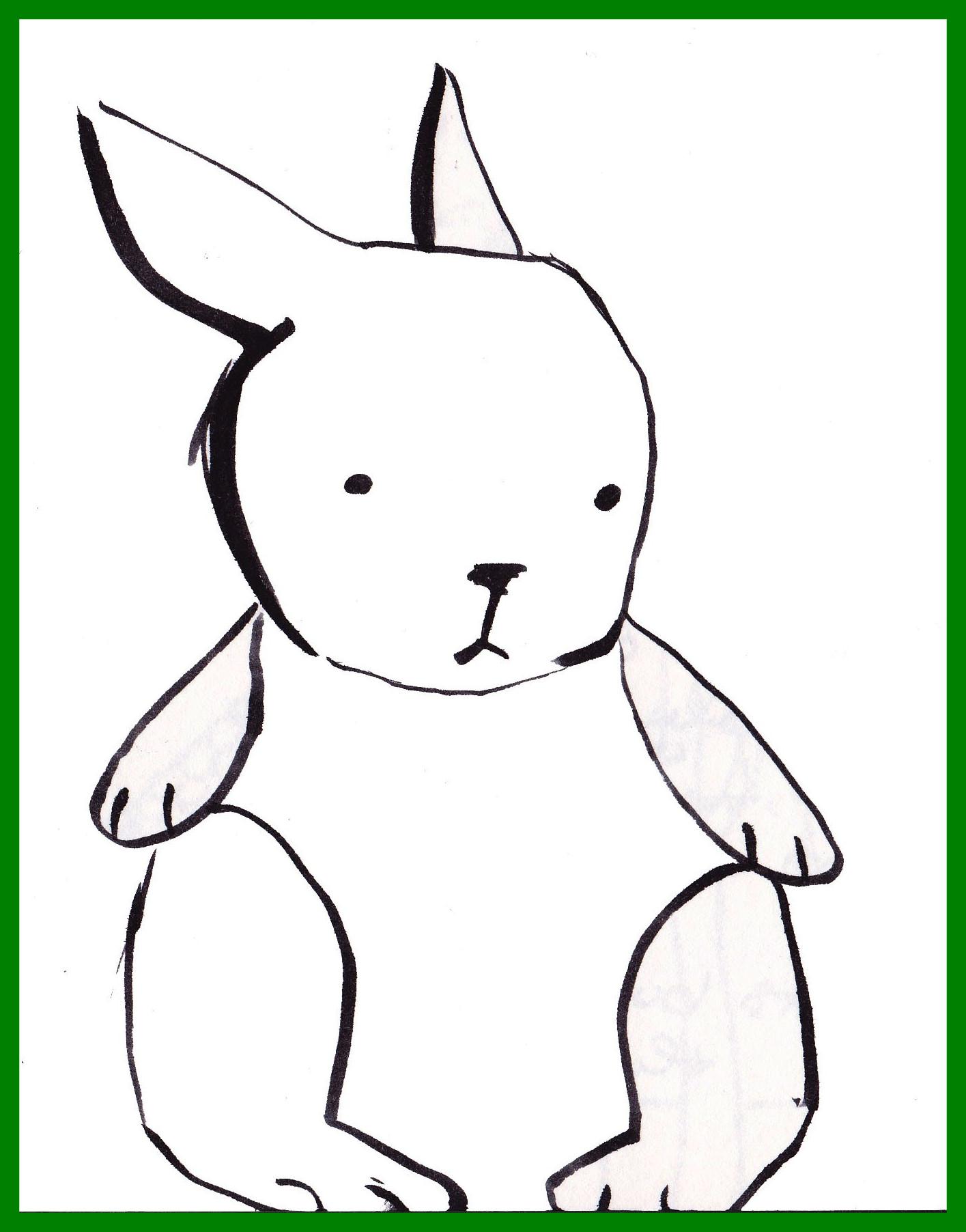 1415x1804 Clipart Bunny Simple Fun Pics Images