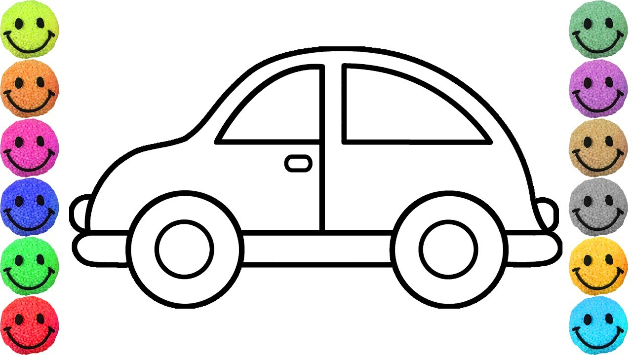 Simple Car Drawing