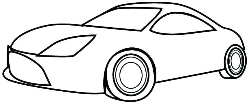 Simple Car Drawing Free download