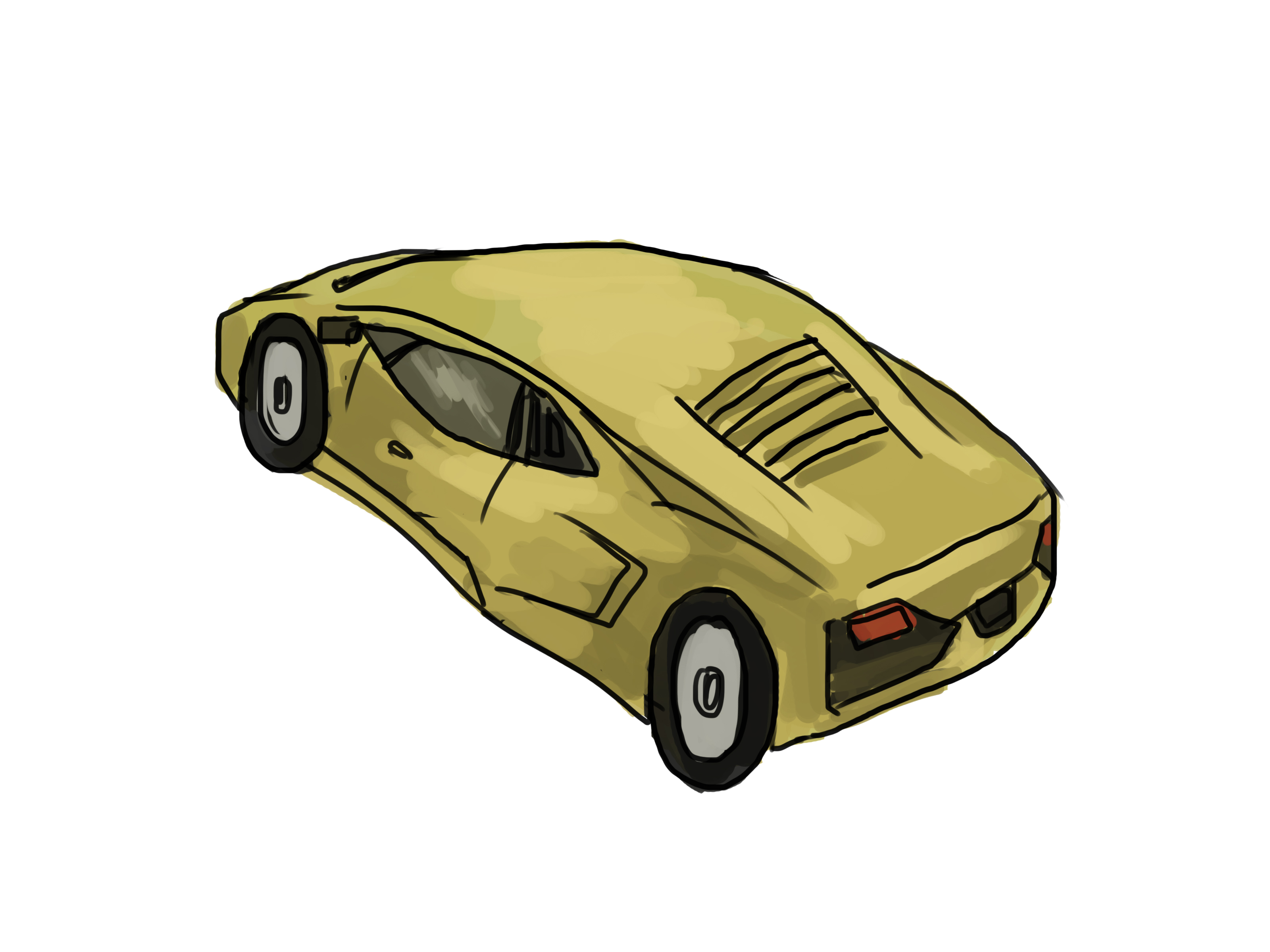 3200x2400 Ways To Draw A Lamborghini