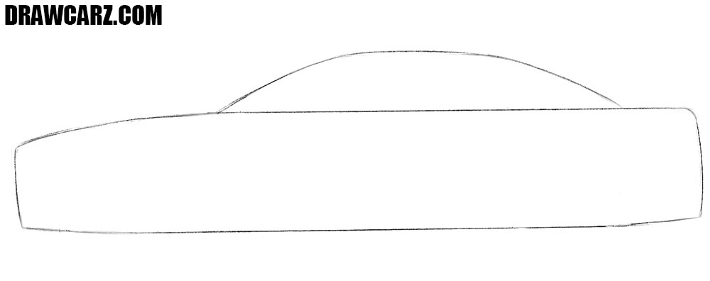 1000x396 How To Draw A Car Easy Drawcarz