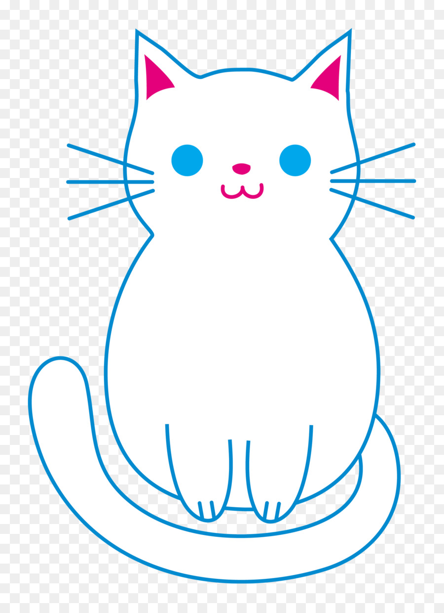 900x1240 Cat, Drawing, Kitten, Transparent Png Image Clipart Free Download