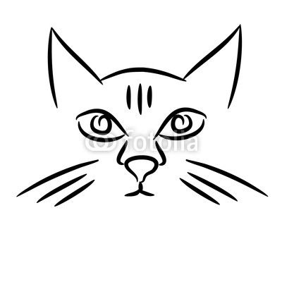 400x400 cat face drawing kapice cat face drawing, cat face, cute cat face