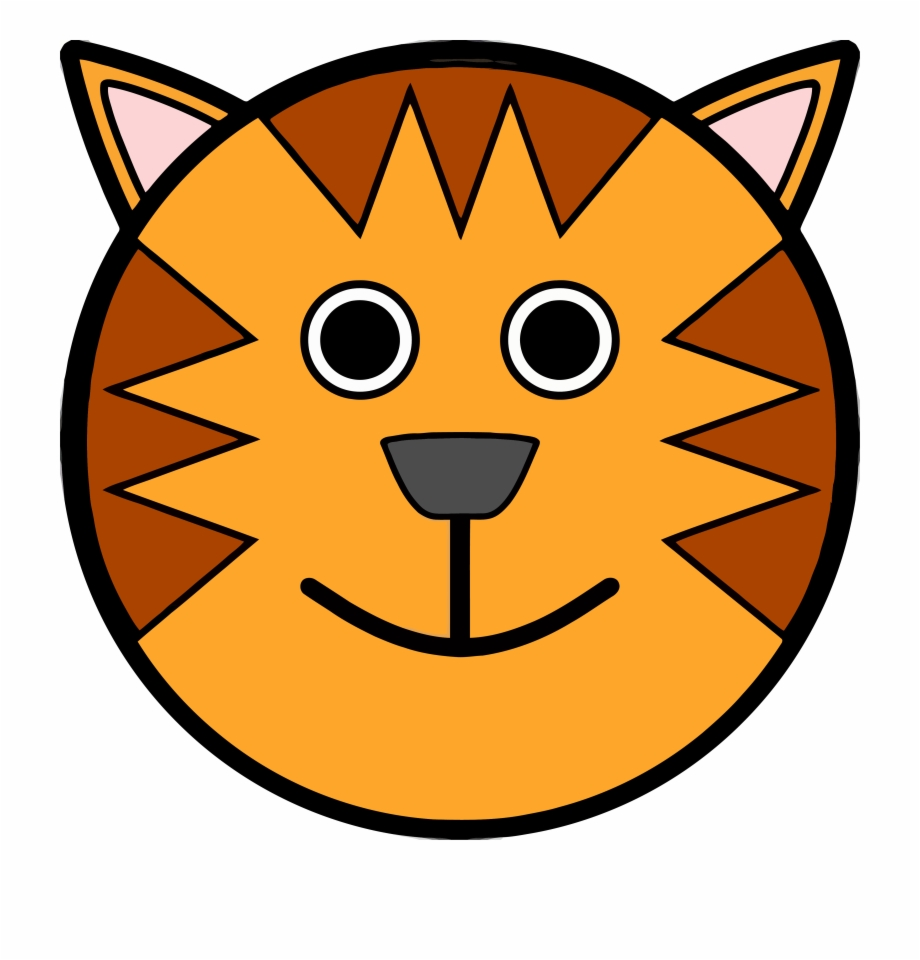 920x960 Tiger Face Clip Art