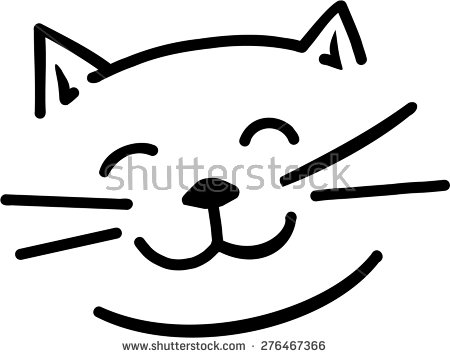 450x358 Collection Of Free Kitten Clipart Simple Cat Amusement Clipart