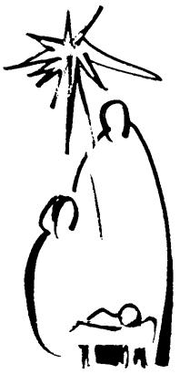 198x410 Simple Nativity Advent