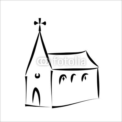 400x400 Church Simple Sketch Buy Photos Ap Images Detailview