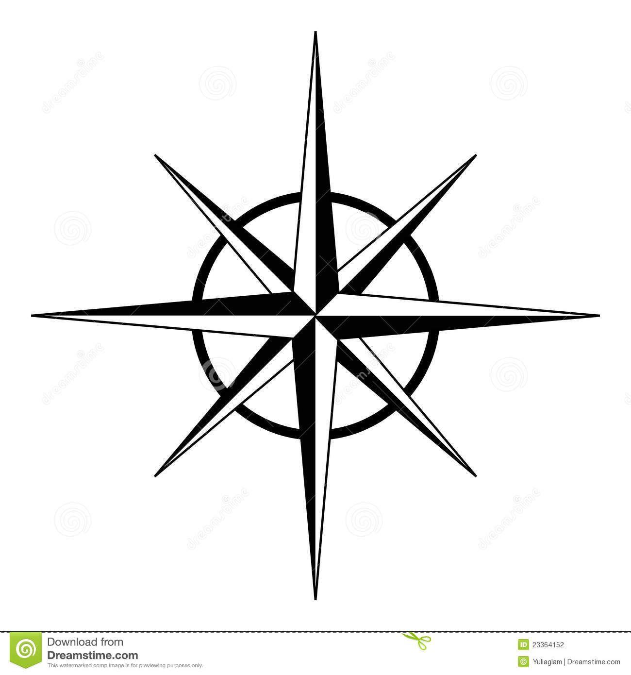 1300x1390 Plain, Simple Compass Design Compass Tattoo Design Compass