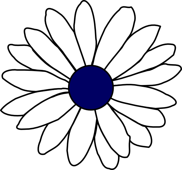 600x562 Collection Of Free Daisy Vector Simple Download On Ui Ex