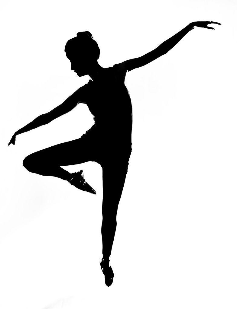 784x1024 dancer silhouette arabesque attitude modern design on modern