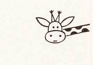 300x210 Easy Drawings Deer How To Draw A Buck Deer Simple Drawing Lesson