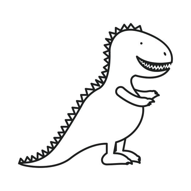 630x630 dinosaur outline dinosaur drawing dinosaur outline printable