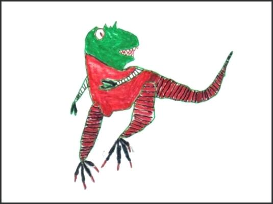 535x401 dino drawing kid pictures from our drawing contest dino drawing