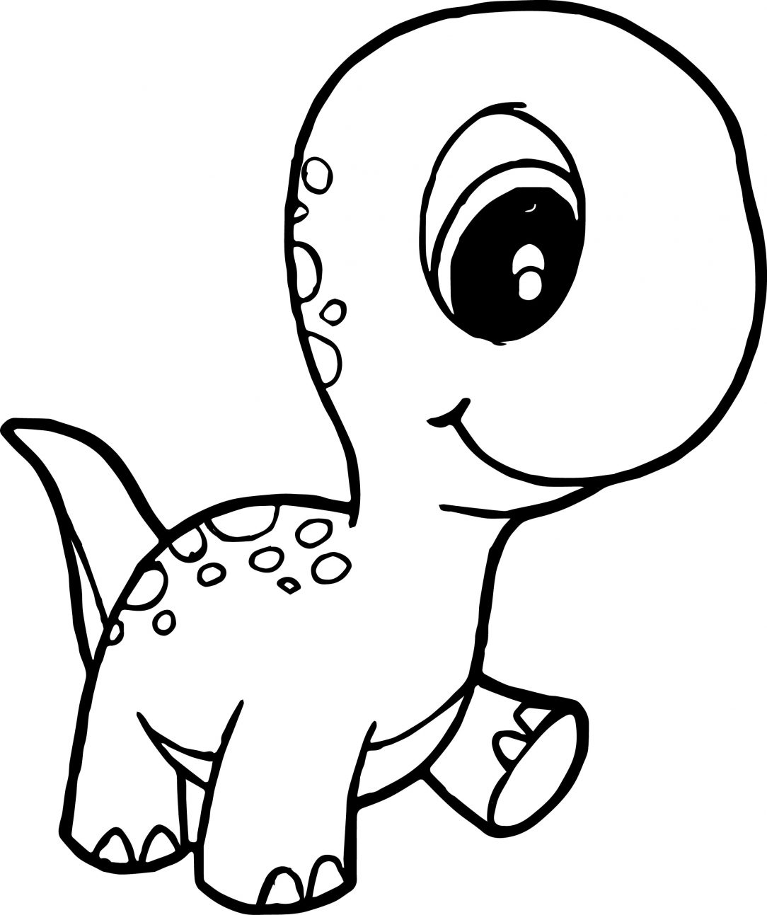 Simple Dinosaur Drawing   Free download on ClipArtMag