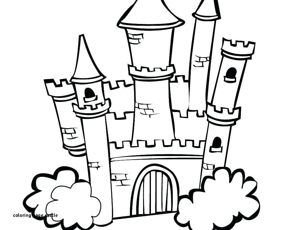 Simple Disney Castle Drawing Free Download Best Simple