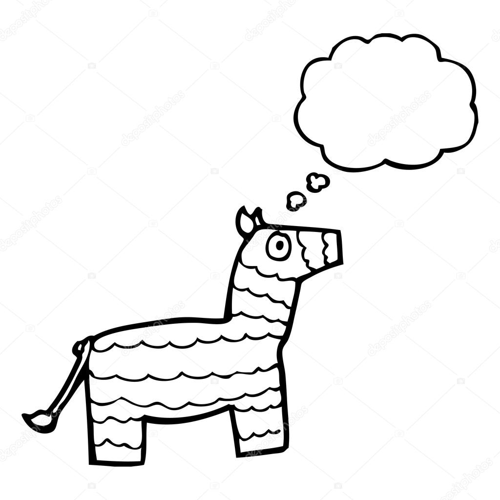Simple Donkey Drawing