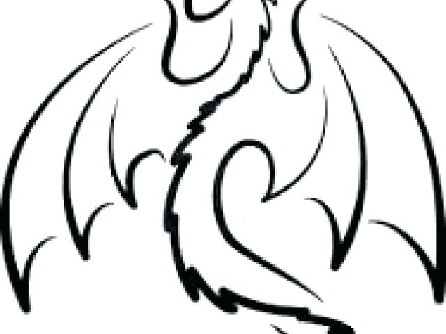 640x480 dragon outlines dragon outline simple dragon outline x dragon face