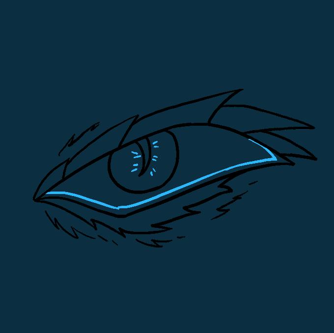 680x678 How To Draw A Dragon Eye