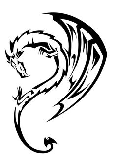 236x333 Best Simple Dragon Arm Tattoos Images Dragon Tattoo Designs