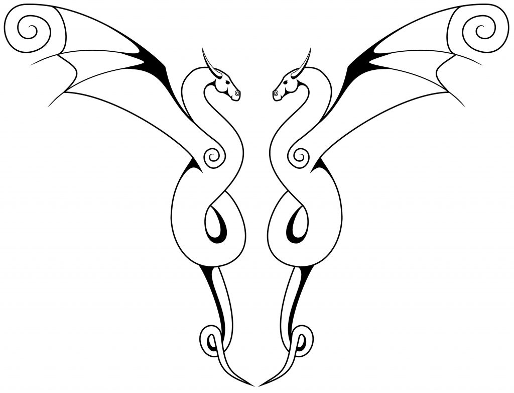 1024x782 Simple Dragon Drawing New Simple Dragon Head Drawing How To Draw