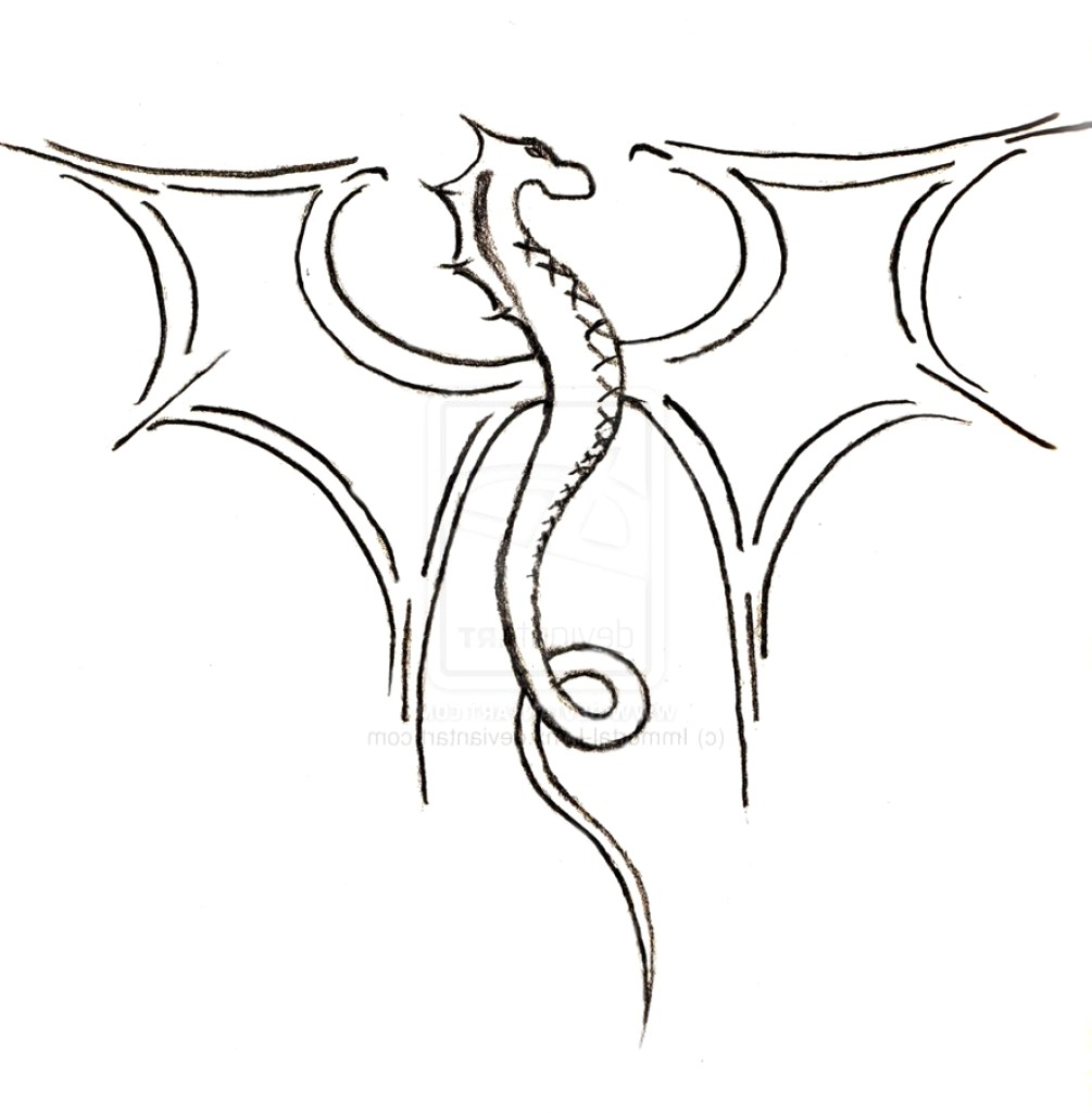 1005x1024 Simple Drawing Of A Dragon How To Draw Step Dragons