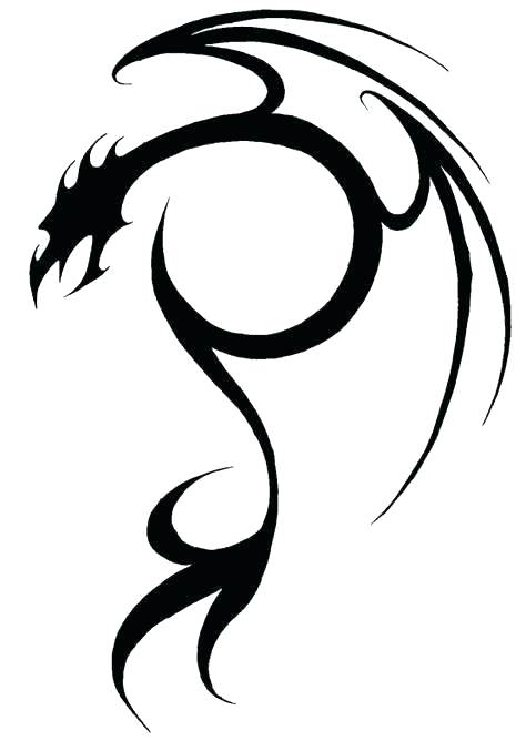 474x668 Simple Dragon Pictures