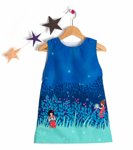 Simple Dress Drawing For Kids