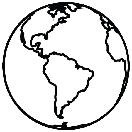 450x450 Planet Earth Clipart Simple