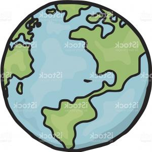 300x300 Simple Drawing Of Earth Exclusive Stock Vector Globe Simple