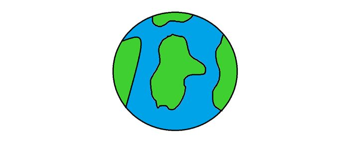 720x296 Simple Earth