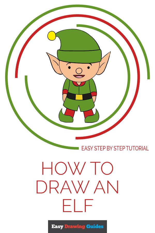 Simple Elf Drawing Free Download Best Simple Elf Drawing