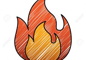 Flame simple. Drawing free download best