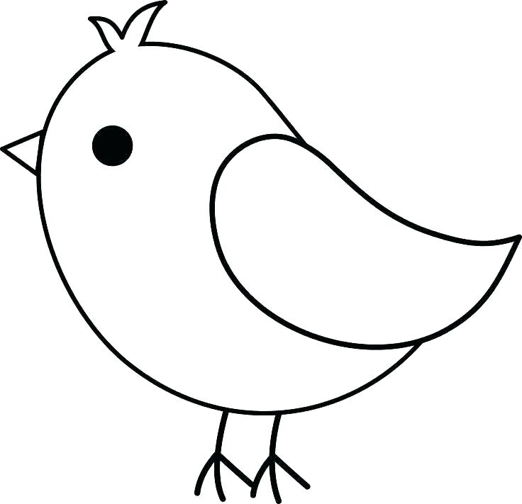 Simple Flying Bird Drawing   Free download on ClipArtMag