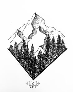 235x294 Best Drawings Of Mountains Images Drawing Techniques, Sketches