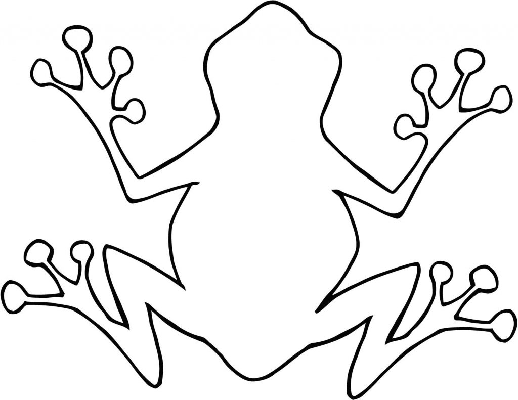 Simple Frog Drawing   Free download on ClipArtMag
