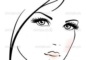 300x210 Simple Girl Face Sketch Simple Girl Sketch Face Easy Girl Drawing