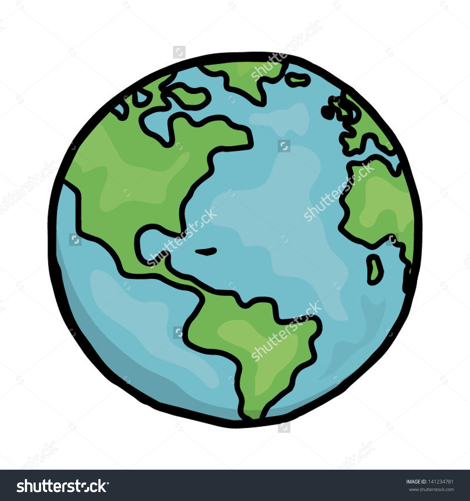 1500x1600 Collection Of 'cartoon Drawing Of Earth' Download More Than