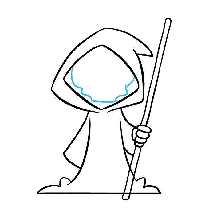 680x678 How To Draw The Grim Reaper