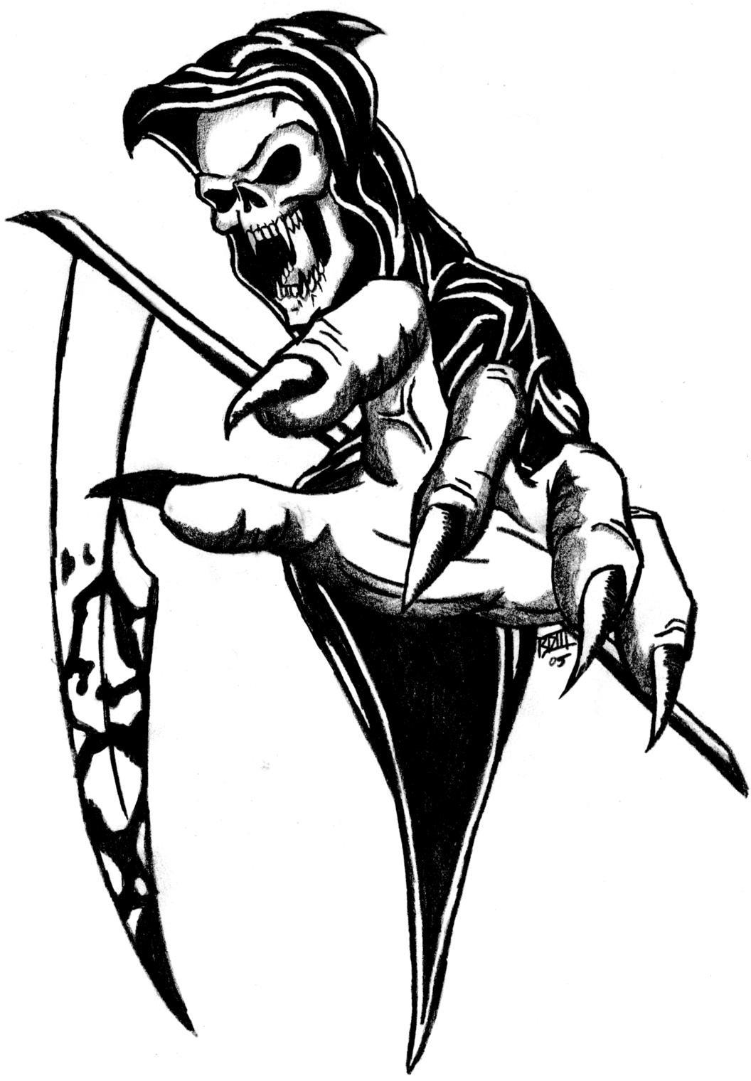 1056x1520 The Last Call Grim Reaper